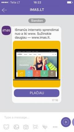 Išmanūs interneto sprendimai nuo a iki www. Sužinokite daugiau – www.imas.lt